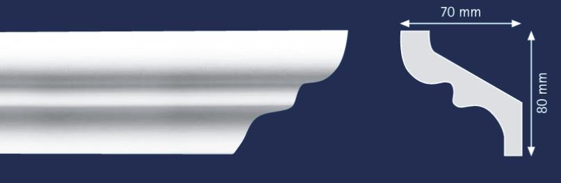 S80 - Корнизи XPS
